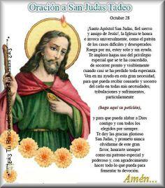 San Judas Tadeo, Oración para que nunca nos falte trabajo.
