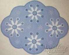 use single as snowflake ornament