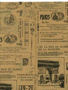 TISSUE PAPER  Paris by OneDayLongAgo on Etsy