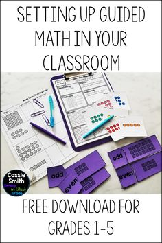 Learn how I set up Guided Math in my classroom and why I do not use set rotations. Learn what types of centers I use and how I plan for the teacher table. Get your activities organized and learn how to teach your students your expectations. Math Rotations, Math Centers, Math Lesson Plans, Math Lessons, Third Grade Math, Fourth Grade, Second Grade, Math Classroom, Future Classroom