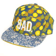 Everyone. Loves. Pineapples. Rock out in this awesome all over pineapple  print BAD. 5 Panel ... c46db50543a5
