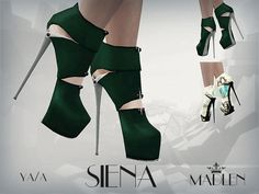Madlen Siena Shoes by MJ95 - Sims 3 Downloads CC Caboodle