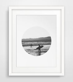 Beach Photo Surf Photography Summer Art by MelindaWoodDesigns #beachdecor