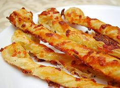 Italian Cheese Straws Recipe