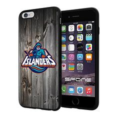 """New York Islanders Black Wood #1642 iPhone 6 Plus (5.5"""") I6+ Case Protection Scratch Proof Soft Case Cover Protector SURIYAN http://www.amazon.com/dp/B00X4G6HT0/ref=cm_sw_r_pi_dp_Cw8yvb15Z3KHE"""