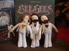 Knit BeeGees....love the chest hair!