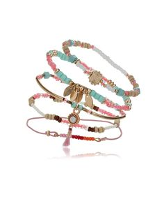 5 Pack Pastel Bracelets, 129 SEK
