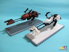Speeder Bike & Hoth Scout Trooper by James zhan on Flickr