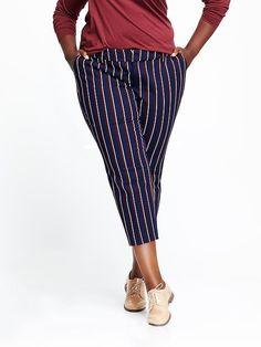 Mid-Rise Harper Plus-Size Pants