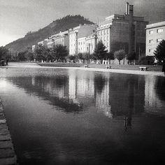 Vista desde el Parque Bustamante. 1950.