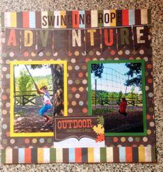 Swinging Rope Adventure - Scrapbook.com