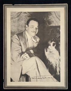 Wallace Beery Studio Portrait Distributed by Lux Toilet Soap   Etsy
