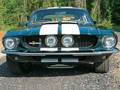 1967 Shelby - this is the color I want to paint my 69 corvette... When I buy it!