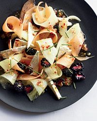Melon, Berry and Feta Salad Recipe from Food & Wine