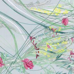 Handmade drawing Magnum print Leonard Paris SS15 collection