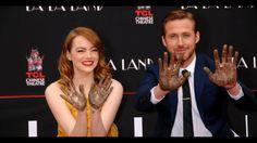 Ryan Gosling and Emma Stone Imprint Ceremony