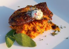FoodForHunters.com : Blackened Crappie with Mashed Yams