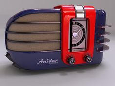 Art Deco Radio by CJ Madsen at Coroflot.com                                                                                                                                                                                 More