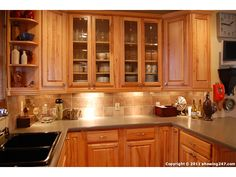 Granite With Oak What Color Light Or Dark Kitchens Forum - Honey oak kitchen cabinets with granite countertops