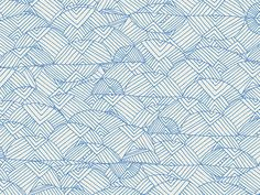Leah Duncan's cotton print collection 'Meadow' - Valley of Azure | buy in-store and online at Ray Stitch