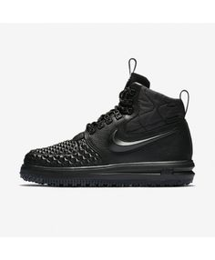 5d9c8c5a8e2 Nike Lunar Force 1 Duckboot  17 Black Anthracite Black 916682-002 Nike  Lunar