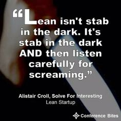 Alistair Croll at Lean Startup