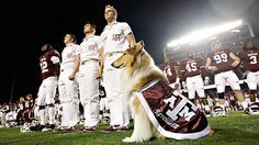 To celebrate the beginning of college football season, I give you the state teams of Texas. First one up: Texas A  M Aggies