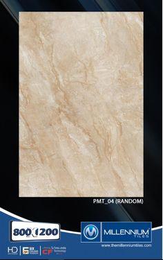 Millennium Tiles 800x1200mm (32x48) PGVT Porcelain Matt XXL Floor Tiles Series  - PMT_04