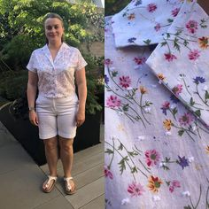 70500fb28844ee I really enjoyed making this Sew Over It Libby Shirt in a beautiful swiss  dot fabric