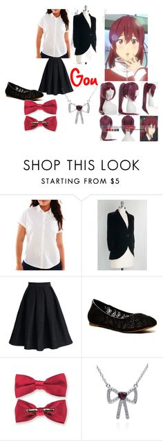 """""""Gou Matsuoka Closet Cosplay"""" by thecrystalheart on Polyvore featuring Arizona, Chicwish, Lucky Brand, Belk & Co., Coshome and plus size clothing"""