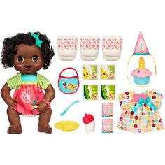 Baby Alive My Baby Alive Doll Value Pack, African-American