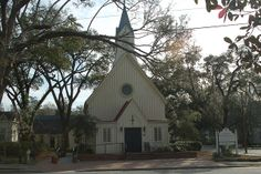 Old southern church, built early 1800s