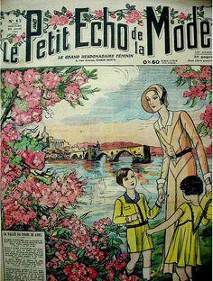 the 1930s- 1931 Le petit écho de la mode cover by april-mo, via Flickr