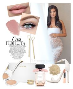 """""""Perfectly Neutral Maternity by Sew Trendy"""" by sewtrendy on Polyvore featuring Michael Kors, Rimmel, Lipstick Queen, Sigma, Whiteley, Ippolita, Shay and Topshop"""