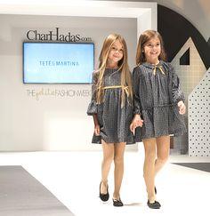 Teté y Martina en The Petite Fashion Week