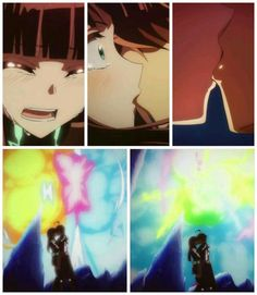 Sousei no Onmyouji (Twin Star Exorcists) Rokuro and Benio first kiss