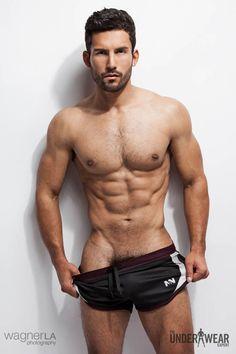 Model: José Parra For: The Underwear Expert's feature on N2N Bodywear By: David Wagner
