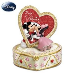 """Disney's """"Let Me Call You Sweetheart"""" Valentine's Day Music Box by The Bradford Exchange"""