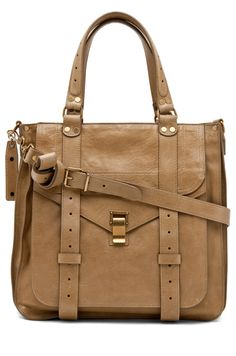 Proenza Schouler PS1 Tote Leather in Neutrals