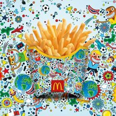 McFritas por 12 renomados artistas urbanos