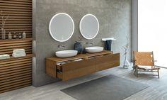 Copenhagen Bath — Dansk design i topklasse — Bad & Fliser Bath Cabinets, Wood Cabinets, Custom Trophies, Bathroom Taps, Solid Surface, Beautiful Bathrooms, Bathroom Interior Design, Bathroom Furniture, Shower Heads