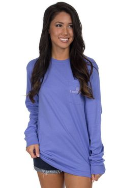 Periwinkle - Raise A Glass - Long Sleeve Front