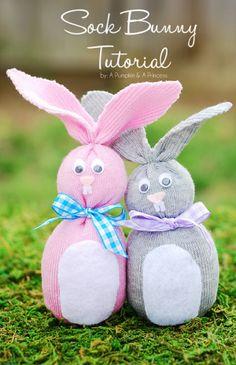 Cute Sock Rabbit