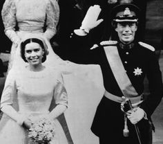 Wedding of Hereditary Grand Duke Henri of Luxembourg and Maria Teresa Mestre y Batista-Falla (Grand Duchess Maria Teresa) on 14 February 1981.