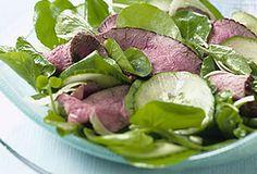 Australian Lamb Cucumber and Watercress Salad | Australian Lamb
