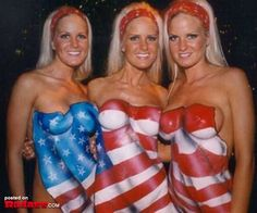 American Women, they're beautiful, patriotic and sexy (27 PICS)