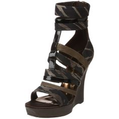 GUESS by Marciano Women's Kacey2 Ankle-Strap Sandal