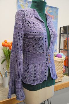 Craftsy Crazy Lace Cardi | by laigeez