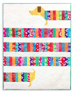 Wiener Dog Quilt? ALL WRAPPED UP Video + Bundle!