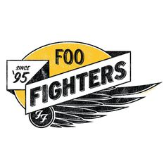 Logo on Foo Fighters shirt I want.
